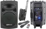 Qtx Qr15pa Portable Pa System With Radiomics