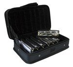 Hohner Blues Band 7 Piece Harmonica Set & Case